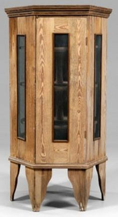 Antique Pie Safe Prices | kitchen & household, America, A rare yellow pine food safe [pie safe ...