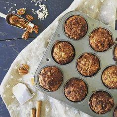 Vanilla Chai Spiced Muffins (Dairy Free, Refined Sugar Free)
