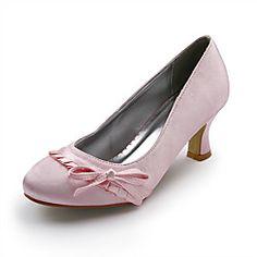 competitive price 4fa94 fb5b4 damskor klackar stelitto häl satin pumpar skor bröllop skor fler färger  tillgängliga   LightInTheBox Wedding Shoes