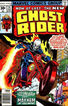 Ghost Rider Vol. 2 # 25 by Gil Kane & Steve Leialoha