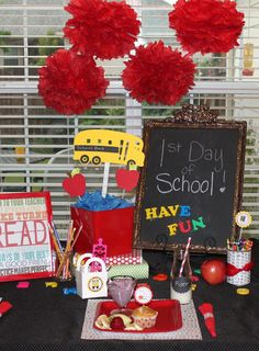 Back to School Breakfast - Love this fun tradition for first and last day of school!