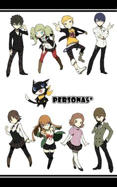 All characters- Persona 5 #persona5 #cosplayclass #anime
