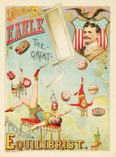 Edward Earle The Great Equilibrist. ca. 1890