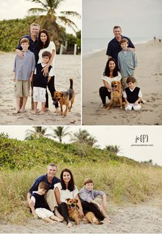 Family Portraits With Pets