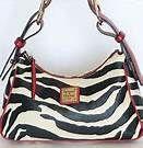 zebra dooney and bourke handbags