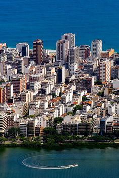 Lagoa and Ipanema, Rio de Janeiro | Brazil by Ascom Riotur, via Flickr