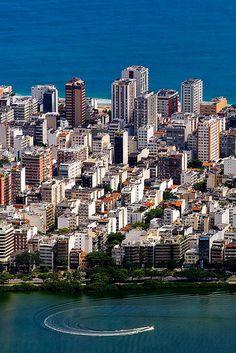 Lagoa e Ipanema - Rio de Janeiro - Brasil. #Brasil