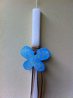 Χειροποίητο με αγάπη!!!: ΠΑΣΧΑΛΙΝΕΣ ΛΑΜΠΑΔΕΣ Candle Sconces, Handicraft, Easter Eggs, Wall Lights, Candles, Blog, Decor, Easter Activities, Craft
