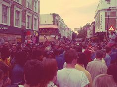 Notting Hill Carnival - 'Super busy, going no where quickly'