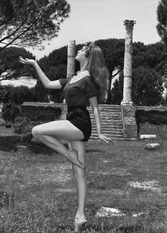 Brigitte Bardot a Ostia Antica