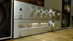 Vintage SABA MI-212 integrated amplifier and MT-201 tuner with SUMMIT XP15 speakers - circa 1978