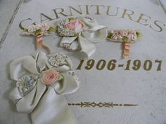 1906-1906 French fabric sample book