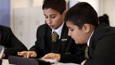 """An ailing UK school makes an incredible transformation • """"Once earmarked for closure, a school outside Manchester, England, uses iPad, Mac, and iTunes U to achieve a 100 percent pass rate."""" • video ☛ http://www.apple.com/education/profiles/essa/#video-essa?sr=hotnews.rss"""
