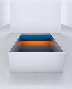 Donald Judd  exhibition  May 6 - June 25, 2011