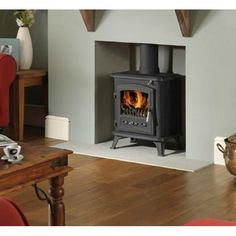 Dimplex electric stove for the lounge. I like the style of the fire surrond too.