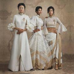 Shantanu & Nikhil Indian Suits, Indian Attire, Indian Wear, Dress Indian Style, Indian Dresses, India Fashion, Asian Fashion, Women's Fashion, Anarkali