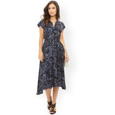 99e27fef Monsoon Carey Print Dress featuring polyvore, women's fashion, clothing,  dresses, midi dress, calf length dresses, vintage looking dresses, print  midi dress ...