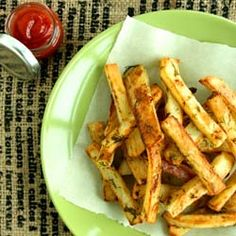 Dill Pickle Fries #vegan #recipe #sides
