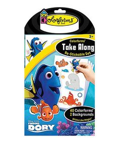Loving this Finding Dory Take Along Stickable Set on #zulily! #zulilyfinds