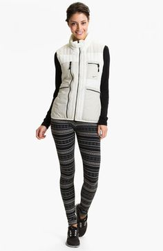 "Nike ""Squad"" Fair Isle Leggings $35. NEEEEED for training!"