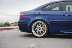#BMW #E92 #M3 #Coupe #Dark #Blue
