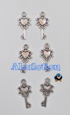 charms llaves