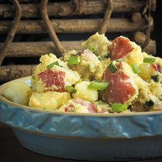 Gooseberry Patch Recipes: Bratwurst & Potato Salad from Cook it Quick Cookbook