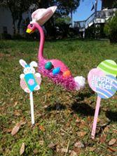 Easter Flamingo