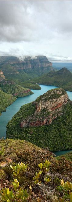 Blyde River Canyon in Limpopo Rural, South Africa.