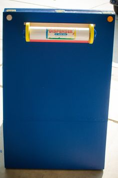 Toddler Busy Board - Back