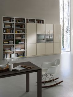 At Pedini Miami, we build custom wall units that can serve multiple functions for your home. Wall Entertainment Center, Modern Wall Units, Miami Houses, Glass Rack, Counter Space, Custom Wall, The Unit, Furniture, Home Decor