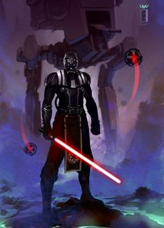 This is the best Darth Vader I have ever seen. He is a total badass...