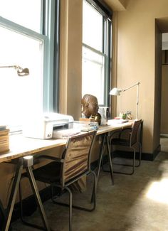 desire to inspire - desiretoinspire.net - Reader request - double desks