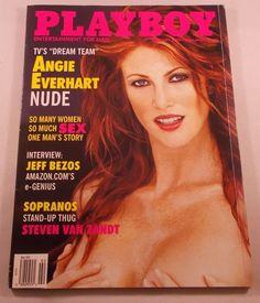 Playboy Magazine Angie Everhart February 2000