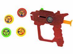 Juguetes - Pistola Lanza Discos