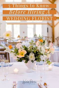 Head over to The Barn of Chapel Hill's blog and read the 5 best tips to know before hiring your florist. From the blooms at your ceremony to each table arrangement at your reception, your flowers need to withstand the test of time and capture yours and your partner's personality. The right wedding florist will be able to make this happen. Read this and more great tips to ensure you hire the best wedding florist for your wedding day.
