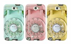 Rotary phone phone cases for Samsung Galaxy or iPhone made from fine art photography. Love these!