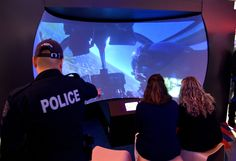 The HAWC helicopter simulator . an amazing experience! Grand Opening, Calgary, Police, Abs, Amazing, 6 Pack Abs, Law Enforcement, Abdominal Muscles, Ab Workouts