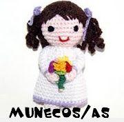 free  crochet  toy Pattern / patrones gratis de muñecos /amigurumi