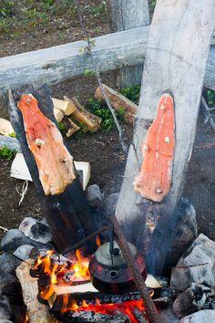 Gourmet in Wilderness, Kuusamo, Lapland, Finland, July 2012 by Heikki Rantala
