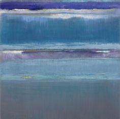 """Back of the ocean 1"" by Bruno Kurz Mixed Media on Metal"