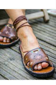 a9e7b50b01d2d 302 Best Handmade Sandals images in 2019