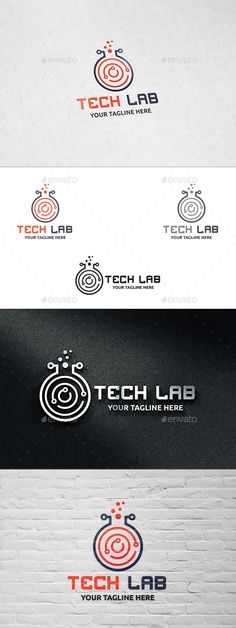 Tech Lab  - Logo Design Template Vector #logotype Download it here: http://graphicriver.net/item/tech-lab-logo-template/10995434?s_rank=918?ref=nexion