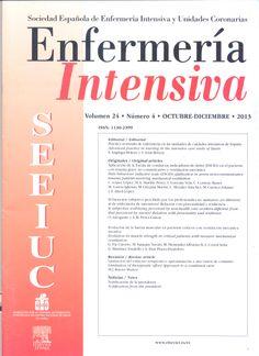 Enfermería Intensiva. Disponible en la Hemeroteca (Biblioteca Central - Nivel 4A)