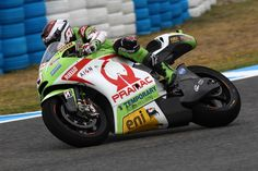 Hector Barberà Pramac Team MotoGp with Aion Renewables