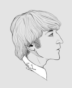 Johnny, Johnny boy... #Thebeatles #Johnlennon #mywork #photoshop CS6 #beatles #Lennon #John #Legend #guitarist