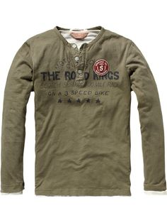 Scotch Shrunk a/w 2012 LONG SLEEVED MOTORCYCLE DOUBLE GRANDDAD TEE  Article number: 12440750506