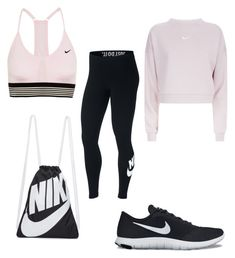 """Workout #Nike"" by ssander23 on Polyvore featuring NIKE"