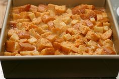 by smitten, via Flickr Pumpkin bread pudding. This looks delish for next holiday season.