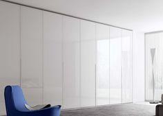 Crystal Wardrobe With Folding Glass Doors